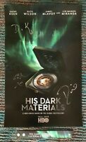 HIS DARK MATERIALS SDCC 2019 Autograph Poster Lin-Manuel Miranda ComicCon Signed