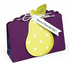 Sizzix Bigz XL Purse Treat Bag die #659190 Retail $41.99 SO CUTE, Cuts Fabric!!