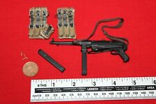 DID DRAGON IN DREAMS 1/6TH SCALE WW2 GERMAN MP40 & Pouches from BALDRIC