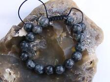Men's bracelet all 12mm Natural Gemstone Labradorite beads