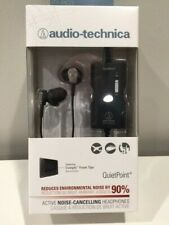 Audio-Technica Ath-Anc23 Active Noise Cancelling Headphones