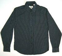 Shirt Yves Saint Laurent pour homme cotton striped long sleeve men's size M