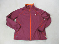 Nike Virginia Tech Hokies Jacket Youth Extra Large Red Orange VT Football Kids