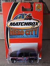 MATCHBOX HERO CITY CHEVROLET TAHOE #51      NIP