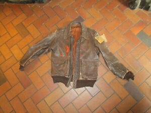 WWII Leather Flight Bomber Jacket 384th Bombardment Group