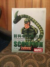 Marvel Comics Art Asylum's Rogues' Gallery Scorpion Bust Figurine #1616/6500 NEW