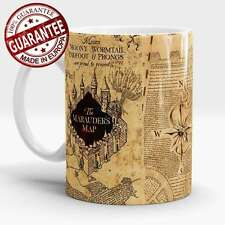 Harry Potter mug Marauders map Mischief Managed Hogwarts Coffee tea cup
