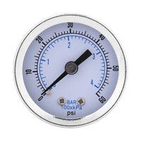60psi 4bar Pressure Gauge Manometer for Water Air Oil Dial Instrument Hot Sale