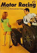 Motor Racing & Sportscar Dec 1968 - Mexican G P, Hill, H16 BRM, BRSCC news