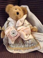 """NWT 2001 BOYDS BEAR """"BAILEY"""" 9"""" Plush Bear - #9199-16 SPRING FAIRY"""
