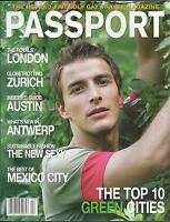 Passport Gay Magazine Top 10 Green Cities London Zurich Austin Mexico City 2011