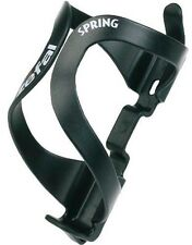 ZEFAL SPRING RESIN ROAD MTB BIKE CYCLE BOTTLE CAGE (Black, White)