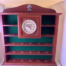 Odouls Golf Ball Display Case + Quartz Clock (Holds 19 Balls, Very Rare)