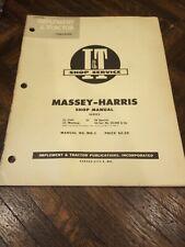Iampt Service Shop Repair Manual It Mh 5 Massey Harris 21 23 33 44 555 Tractor