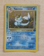 Pokemon Card Vaporeon Set Base 12/64 RARA HOLO Ita