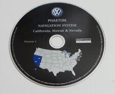 2004 2005 2006 PHAETON NAVIGATION MAP GPS CD DISC CALIFORNIA NEVADA HAWAII OEM