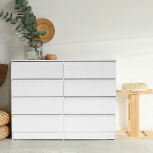 High Gloss White 5/6/8 Modern Bedroom Furniture Chest of Drawers