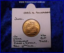 1882 Australian Sovereign   Unc