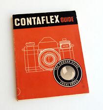 *c1955* ● Zeiss IKON CONTAFLEX SLR GUIDE First Ed (Focal Press) ● Softbound 86pp