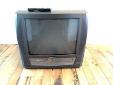 "Panasonic Model PV-DM2093 20"" CRT TV DVD VCR FM Tuner Combo W/Remote tested!"