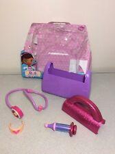Disney Doc McStuffins 6 Piece Doctors Bag Playset Pretend Dress Up Kit