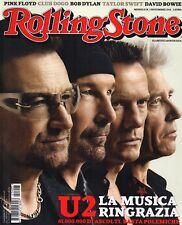 Rolling Stone 2014 3.U2,David Bowie,Taylor Swift,Club Dogo,Kurt Sutter,Brian Eno