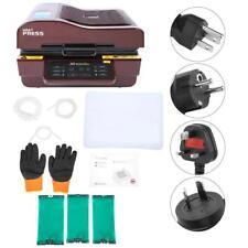 Digital Heat Press Transfer Printing Sublimation Machine Kit T-Shirt Hat Mug