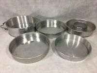 Cake Pans Lot Springform Bundt Removable Bottom Wear-Ever Mirro Aluminum Vintage