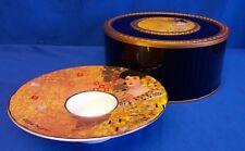 Goebel GUSTAV KLIMT Adele Bloch bauer Art Nouveau TEALIGHT CANDLE HOLDER 0648
