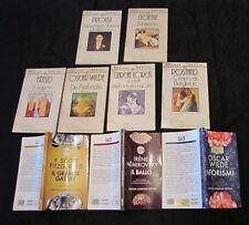 Lotto 9 libri Newton Compton Tascabili Wilde Lorca Freud Proust Goethe e altri 2
