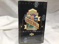 1993 Upper Deck MLB Baseball Cards Series 1 Factory Sealed BOX