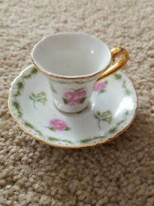 Delton Children's Porcelain Fairy Tea Cup  Saucer Replacement
