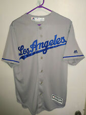 LOS ANGELES DODGERS MAJESTIC CLAYTON KERSHAW GRAY SIZE - S