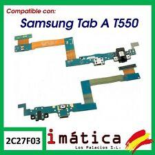 "CABLE FLEX DE CARGA PARA SAMSUNG GALAXY TAB A 9.7"" T550 T555 AUDIO CONECTOR USB"