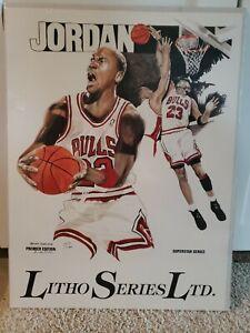 Litho Series LTD. Michael Jordan Premier Edition Lithograph Print