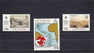 Ascension Is 1980 150th Anniversary of Royal Geographical Society Mint Unhinged
