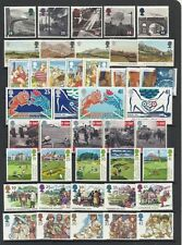 GB GREAT BRITAIN 1994 Commemorative Year, 9 sets Mint NH