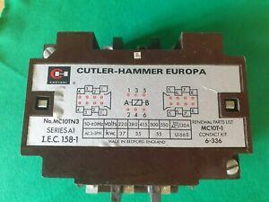 Cutler Hammer MC10TN3 Contactor 415 Volt Coil 130 Amp