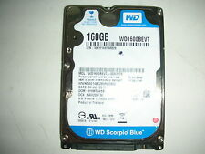 "WD Scorpio Blue 160gb WD1600BEVT-00A23T0 2061-771672-F04 ADD28 2,5"" SATA"