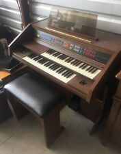 Vintage Lowrey Electric Organ Debut Deluxe with bench