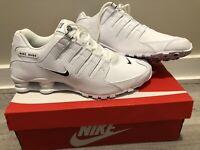Nike Shox NZ EU - Men's Size 11 - Casual Shoes Sneakers White / Black