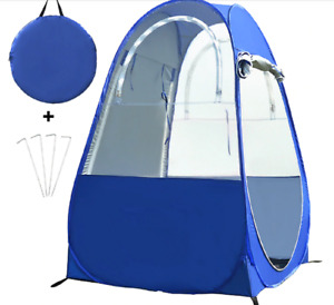 Ultimate Weather Pod Single Person Fishing Portable Outdoor Pop Up Tent With UV
