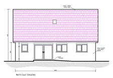 ** Venta ** nuevo Bungalow planes de CAD - 2017 reglamentos de planificación y construcción