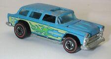 Redline Hotwheels Light Blue 1974 Alive 55 oc7247