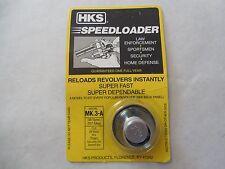 HKS Speedloader;  NEW;  MK.3-A;  6-Shot;  38 SPL,  357 Mag;  Fast & Dependable