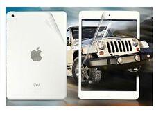 3 X Front 3 X Back Screen Protectors Film Cover - iPad Mini 2 2nd 2013 & Cloth
