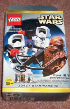 Lego 3342 Star Wars Scout Troopers / Chewbacca Minifigure Pack ** Sealed Box