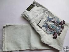 Jeans  Sir Benni Miles Loose Fit 30  denim blau used Stickerei TIP TOP/I126