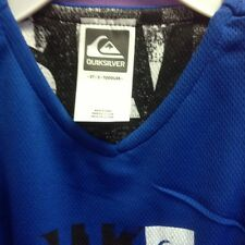 Quik silver Size 7X royal Blue And White Tank