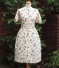 1940s/WW2 style Jasmine Guiness ditsy tea dress 14 NWT SS 2011